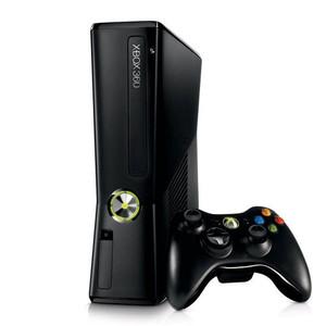 Microsoft Xbox 360 250 Gb Slim Black Player Pak
