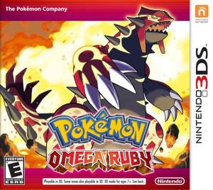 Pokemon Omega Ruby - 3DS Game