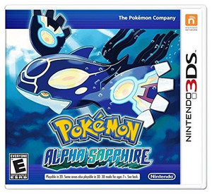 Pokemon Alpha Sapphire - 3DS Game