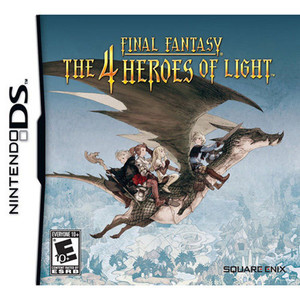 Final Fantasy the 4 Heroes of Light - DS Game