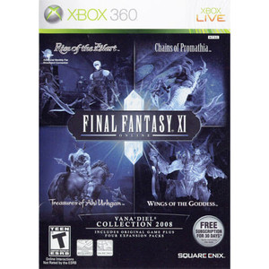 Final Fantasy XI Online Vana'Diel Collection 2008 - Xbox 360 Game