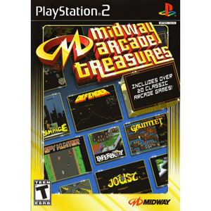 Midway Arcade Treasures - PS2 Game
