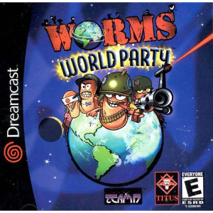 Worms World Party - Dreamcast Game