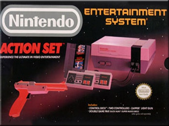 Nintendo NES Action Set Complete In Box
