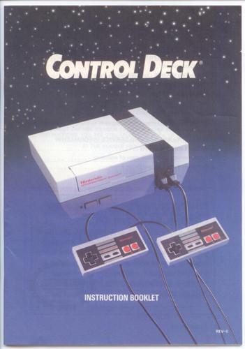 control deck rev 6 8 nes manual for sale dkoldies rh dkoldies com Nintendo NES Manuals NES Manual Scans