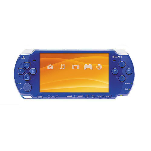 sony psp 2000 blue handheld system w charger for sale dkoldies rh dkoldies com Headphones From Sony 2000 Sony PS 2000