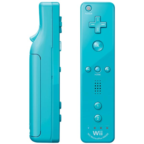 original blue motion plus remote controller wii for sale dkoldies