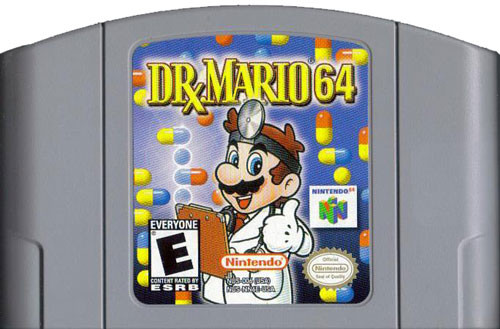 dr mario 64 nintendo 64 n64 game for sale dkoldies