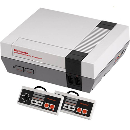Console Nintendo 1985: Nintendo Entertainment System With 2 NES Controllers For Sale