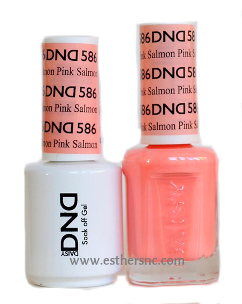 daisy gel polish pink salmon 586