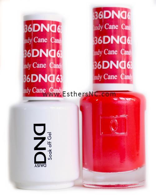 Daisy Gel Polish Dnd Red 563
