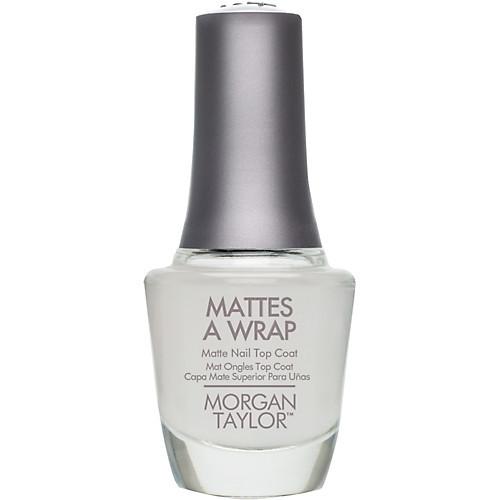 Morgan Taylor Mattes A Wrap Top Coat- Esther\'s Nail Center