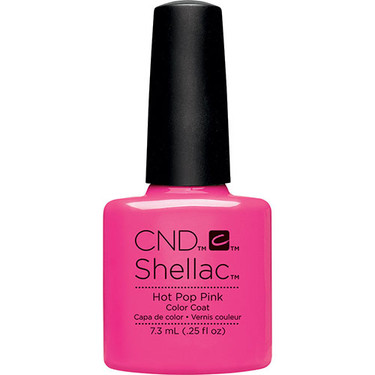 Cnd Shellac Hot Pop Pink Esther S Nail Center