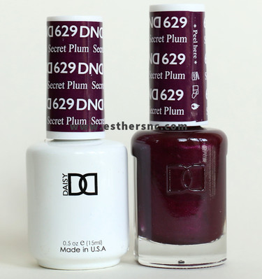 Daisy Gel Polish Secret Plum 629