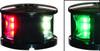 'FOS 12' LED Tri-Colour Nav Light - White Horizontal mount