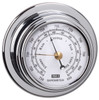 Barometer - 70mm Chrome Plated Brass