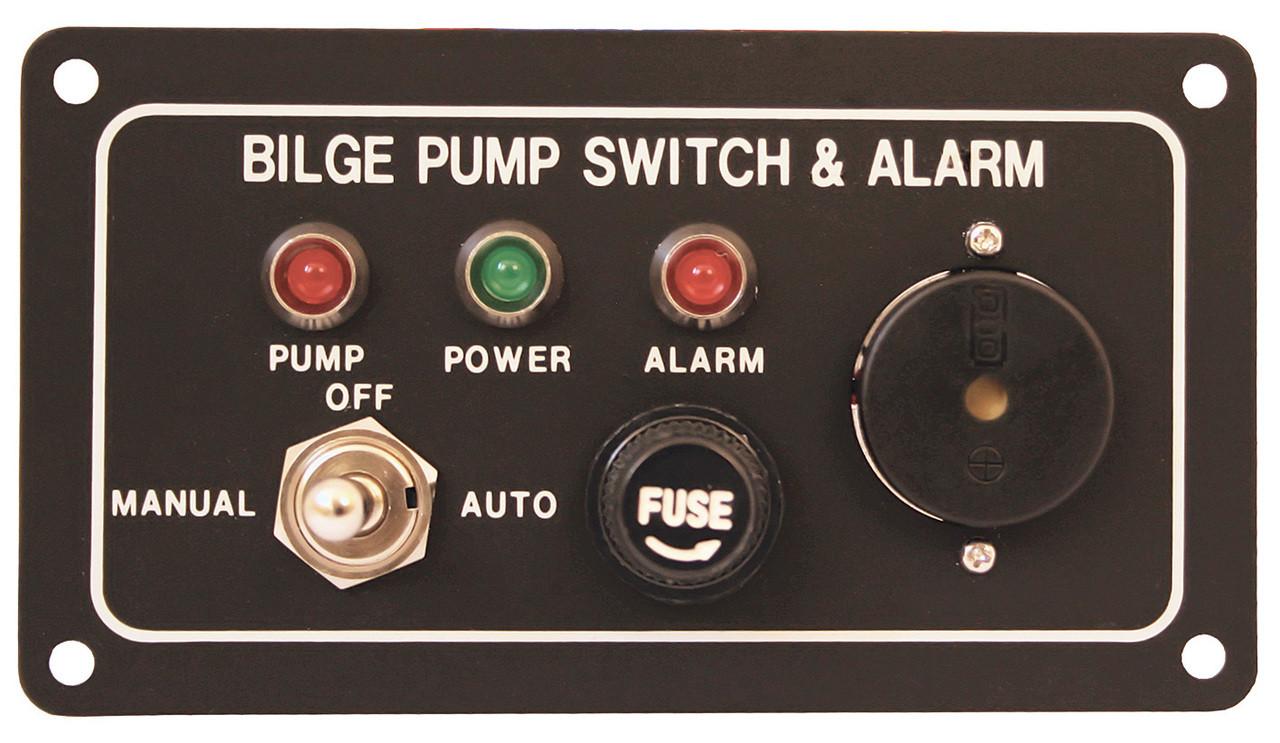 Bilge Swch &Alarm 12/24v