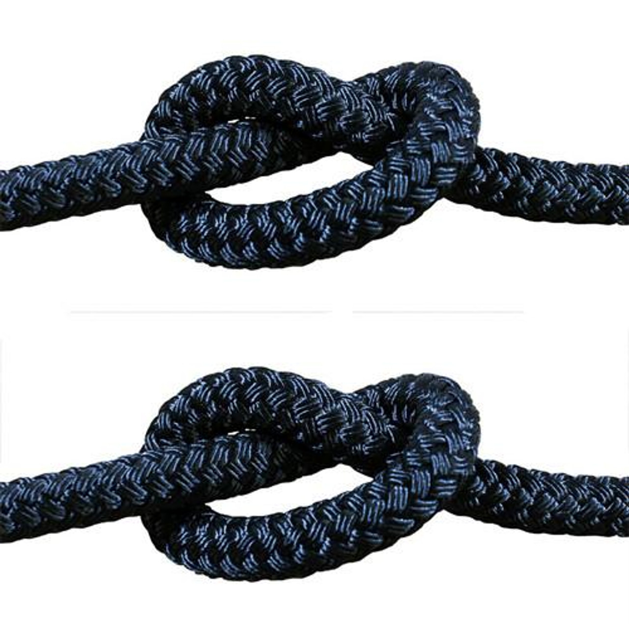 Rope - Double Braid Black 20mm x 1metre