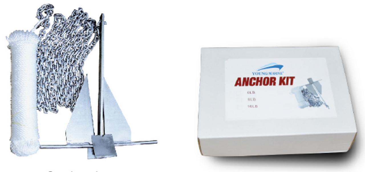 Anchor Danforth Kits 4LBS