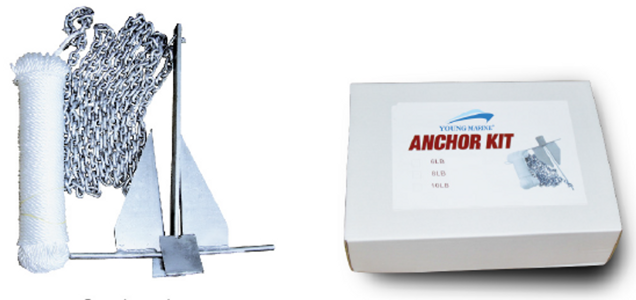 Anchor Danforth Kit 6LBS
