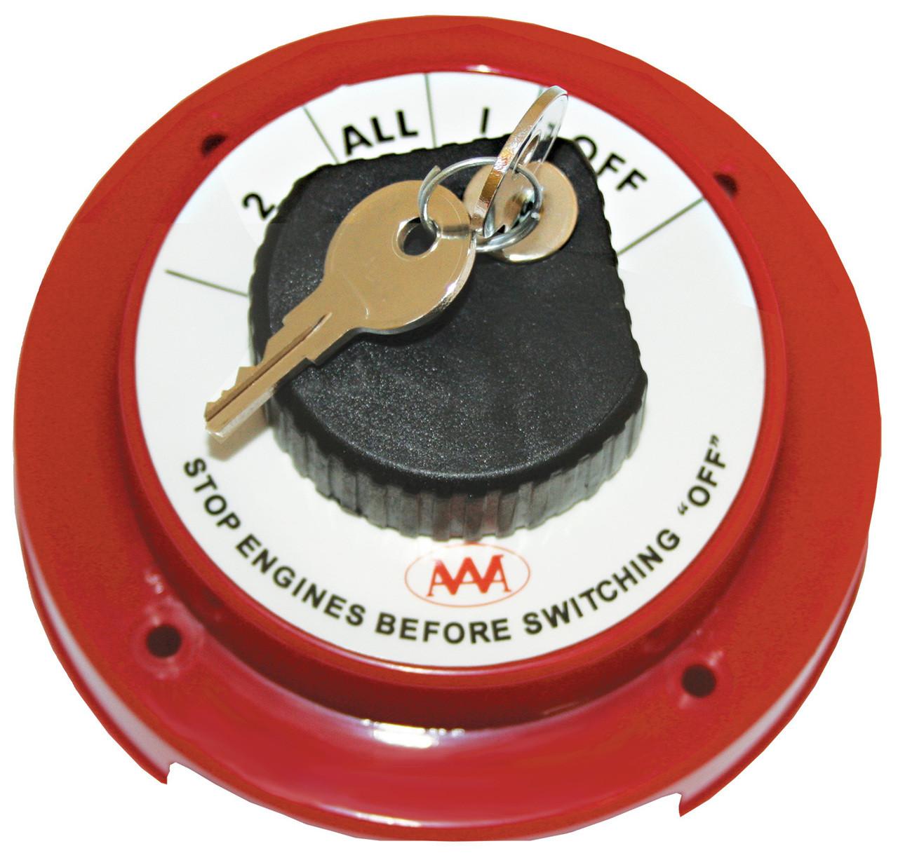 Battery Switch -Key Lock
