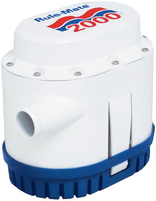Rule-Mate Bilge Pump Automatic 2000GPH 24v