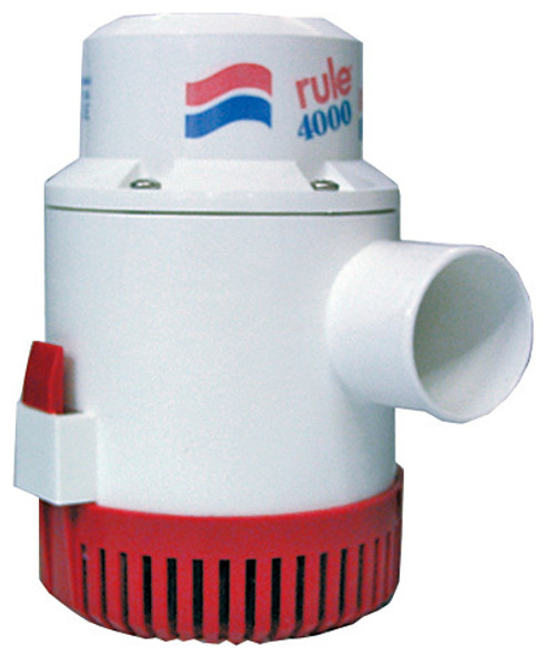 Bilge Pump 'Rule' 4000GPH 12v