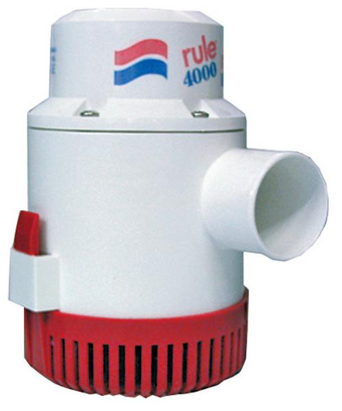 Bilge Pump 'Rule' 4000GPH 24v