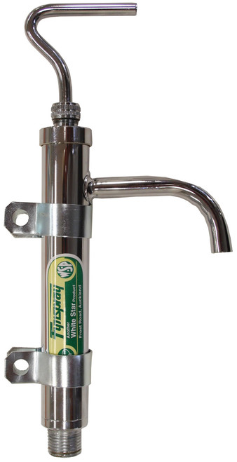 Sump Pump - Chrome Brass