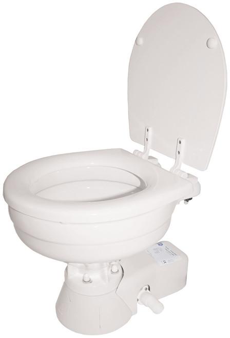 Toilet - Quiet Flush Large Bowl 24v Salt Water