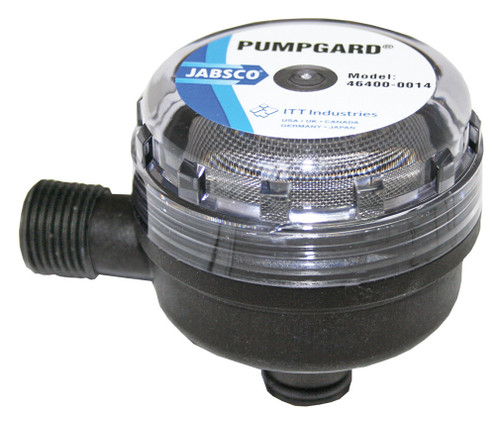 "Jabsco Strainer Plug In 1/2"" Male Thread"