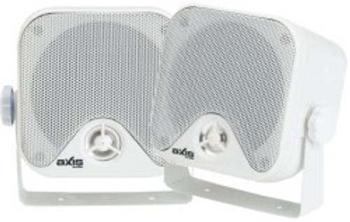 Axis 2-Way Box Marine Speakers 100mm x 100mm