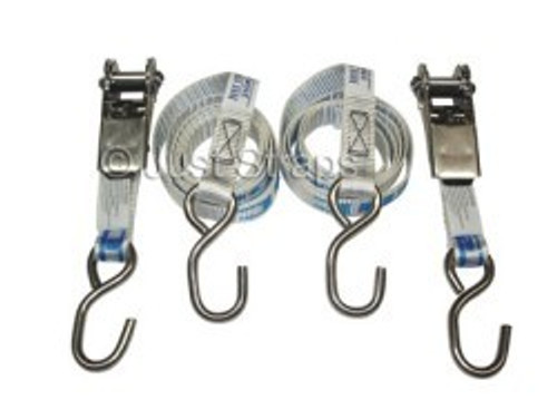 Tie Down Straps Transom with Ratchet 25mm x 1.5m