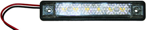 Waterproof Strip Light 6 x white LEDs