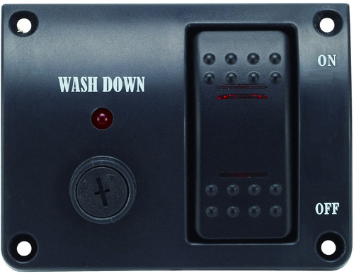 Deck Wash down Pump Control Panel - 12v