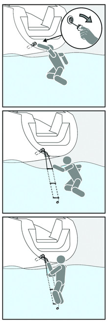 Flush Mount Safety Ladder
