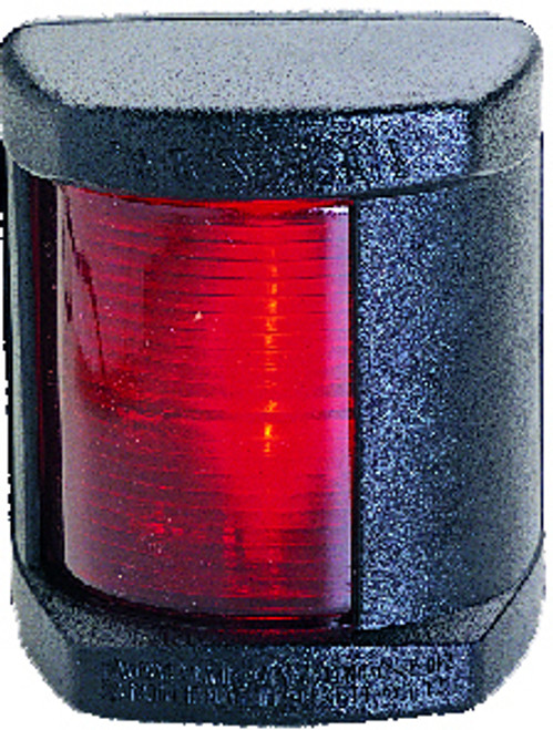 'Classic 12' Port Light - Black Vertical Mount
