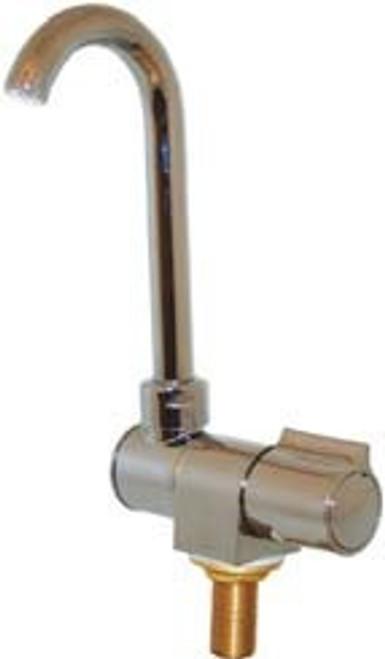 Chrome Brass Folding Tap - Single Faucet