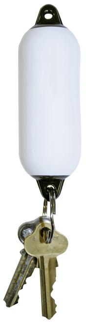 Fender Floating Key Ring -White/Black