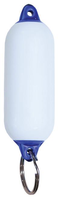 Fender Floating Key Ring -White/Blue