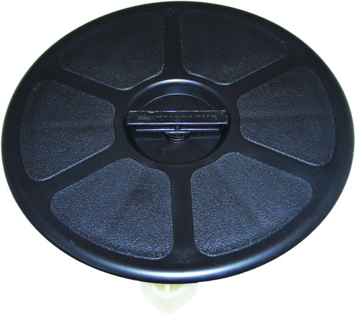 Deck Plate WP Blk 200mmOA