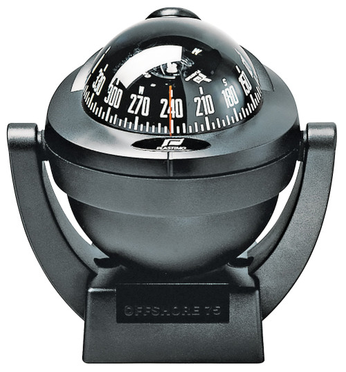 Offshore 75 Powerboat Compass - Bracket, Black
