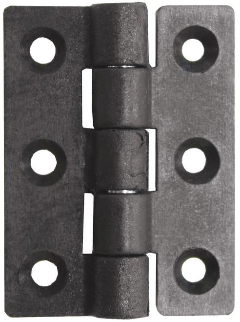 Nylon Butt Hinge - Black 63mm