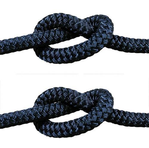 Rope - Double Braid Black 10mm x 1metre