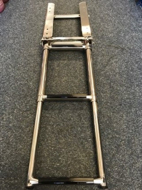 Ladder Stainless Steel 3 Step Narrow