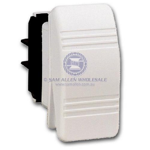 Switch R/S C3 White 12V 20Amp Off/On