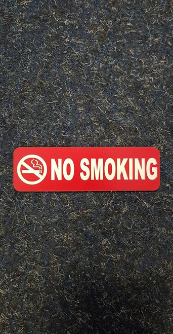 Label 'No Smoking'