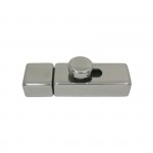 Square Barrel Bolt - Stainless Steel