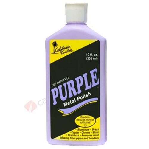 Purple Metal Polish