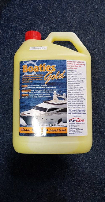 Boaties Gold Wash & Wax 5lt